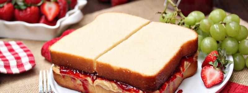 BREAK FAST   Butter Jam sandwich